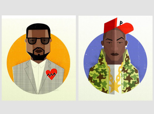 Hip Hop Heads by Dale Edwin Murray.