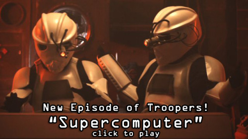Troopers: Supercomputer It makes Deep Blue look like a much better computer.