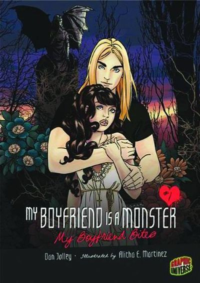 Market Monday My Boyfriend is a Monster #3: My Boyfriend Bites TP, art by Alitha Martinez