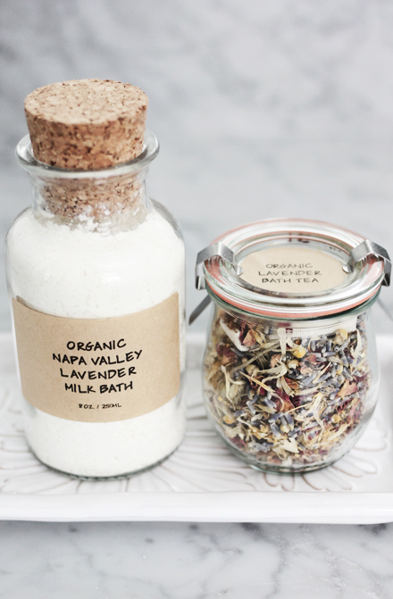 These bottles and jars would be lovely to put homemade beauty products in! A cute way to hold bath salts, liquid soaps and natural beauty products :)