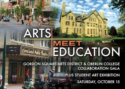 coffeewithclarence:  Check This Out! Oberlin College and Gordon Square Arts District have just announced their Regional Artistic Collaboration, an effort to raise the profile of GSAD as a regional artistic centre, and to create a regional stage for Oberlin students to showcase their talent. Read more by clicking the image, and get excited!  The opening gala is this weekend, featuring TONS of student art in the exhibition.