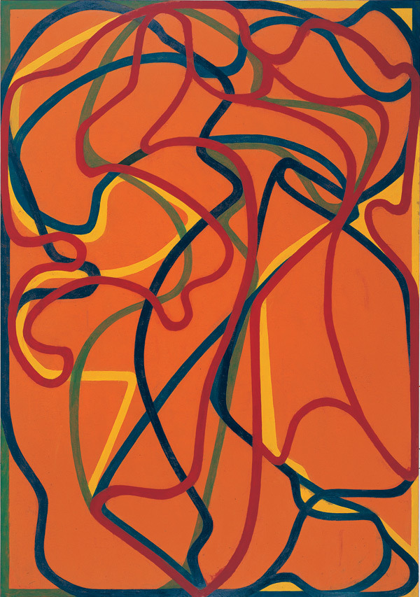 julienfoulatier:  Painting by Brice Marden.