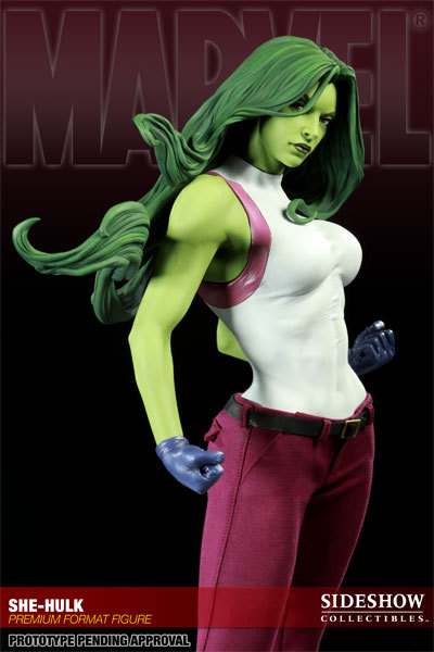 stevienova:  I plan on doing a She Hulk cosplay for Comicon next year. I'm going with this less skanky version of her. I will have to hit the gym every day to get more muscular. I'm only 5 ft. 2 in. tall, so this will be interesting…mini She Hulk! Ha!   -