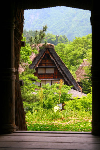Traditional farmhouse, Shirakawago, Japan (via Paul's Travel Pics: Japan - 15-Day Slow Trip Thru West-Central Japan)