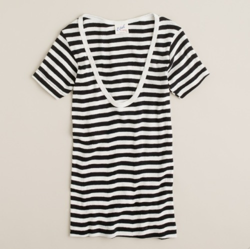 Everyone loves a great stripe, and J.Crew's latest collaboration with striped-classic geniuses Edith A. Miller is no exception. Find it in stores today, and if you can wait…online next week. Edith A. Miller for J.Crew tee, $65