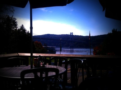 Well this is a nice view for an anfternoon lunch/dinner  (Photo by mikecondition)