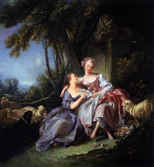 18thcentury:  The Love Letter - François Boucher1750National Gallery of Art, Washington, DC