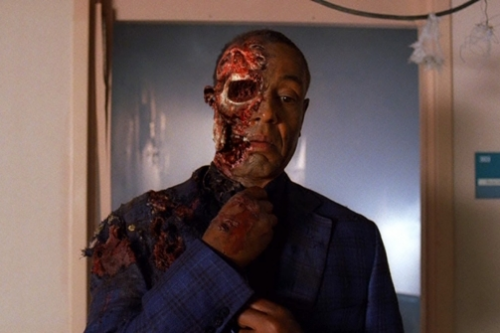 "Breaking Bad gave a literal meaning to the title ""Face Off"" in last nights season finale. It was so good."