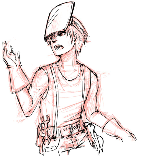 rantingprince:  SO. YEAH, i had to do it ok? steampunk!manu was too cool for me, and i don't really wanna work anyway =v=  #MARTÍN NO ME HAI PAGADO CONCHETUMADRE #NO MIGUEL LOS NÚMEROS NEGATIVOS NO SON NÚMEROS PESIMISTAS