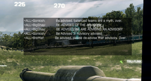 biyabo:  Be advised, the Battlefield 3 Beta has ended.  Otherwise known as Be Advised 3: Advisory Advised.