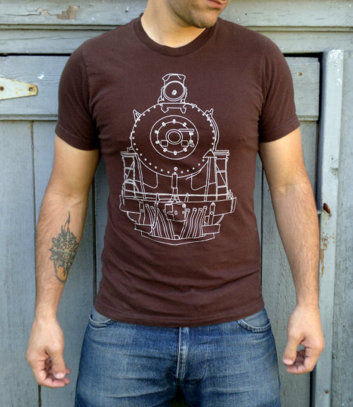 Love finding awesome handmade guys stuff like this vintage tee from Locomotive here