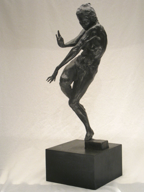 "Gary Weisman, ""Accept and Release,"" Bronze, 25"" x 10"" x 8"""