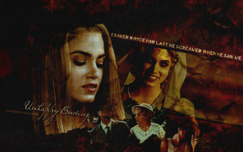 eatmypatronus:  [Unhappy Ending] Rosalie's story always intrigued me.