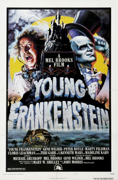 beautyandterrordance:  Right now: Young Frankenstein, 1974