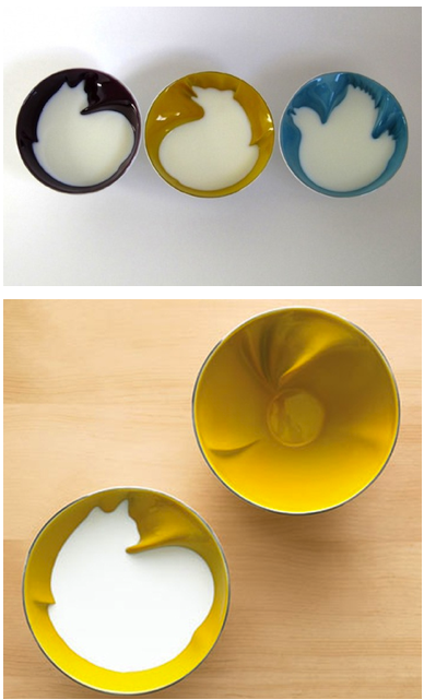 helloyoucreatives:    For your breakfast: Animal design cereal bowls
