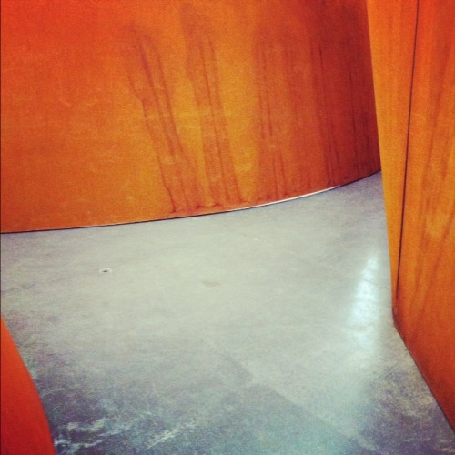For my Two-Speed Sally, who was good and didn't touch the art. Richard Serra Junction/Cycle 2011