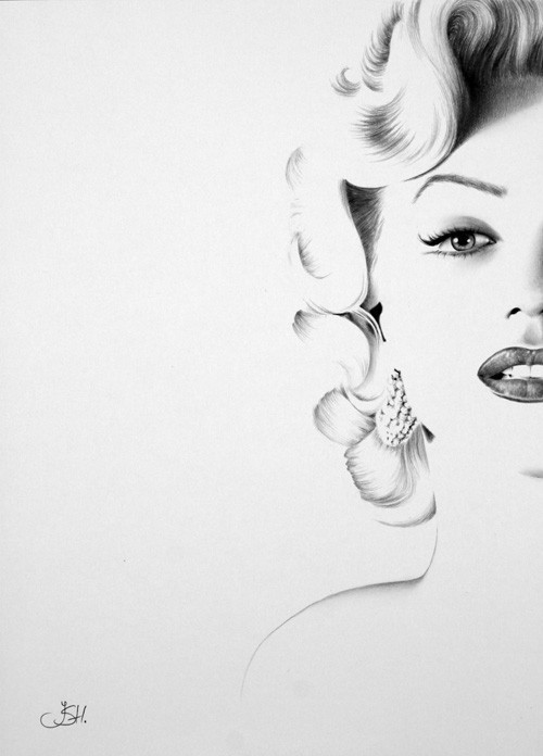 withlovemarilynmonroe:  beautiful Marilyn Monroe art