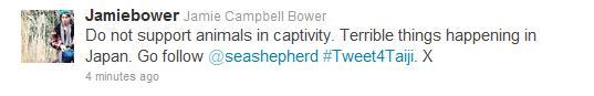 I am a of Jamie Campbell Bower so this made me smile (: