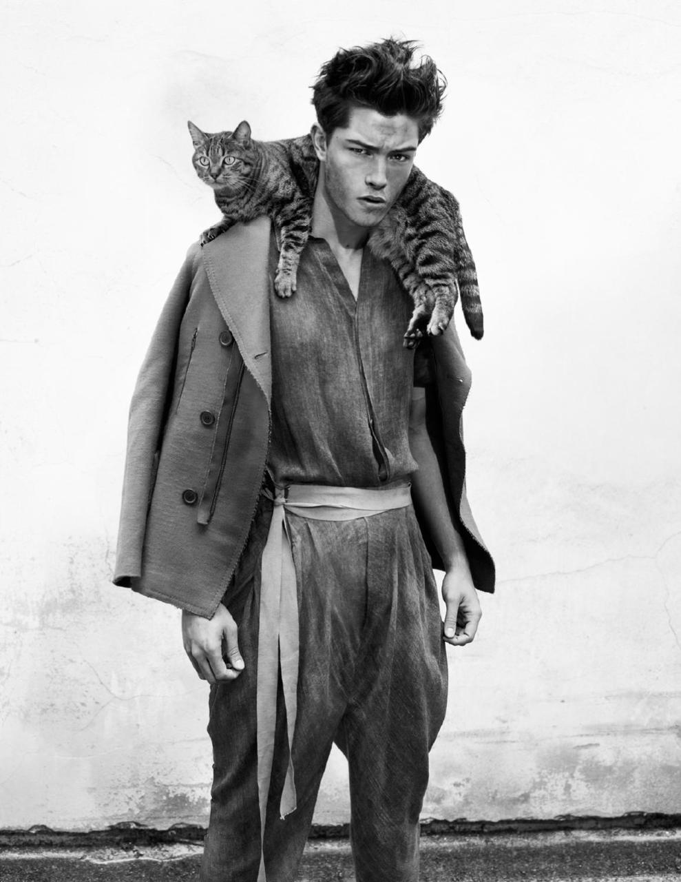 francisco lachowski and one lucky cat -theseagoat