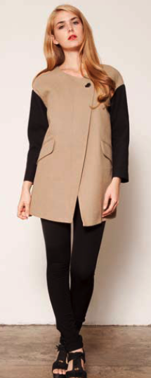 i am absolutely OBSESSED with this BB DAKOTA jacket for Spring 2012. it is a knock off of a Celine jacket but i think this one is amazing. I can't wait to place my order for my internship for this jacket and many other goodies. will keep posted about my order and what new pieces i'll be getting in.