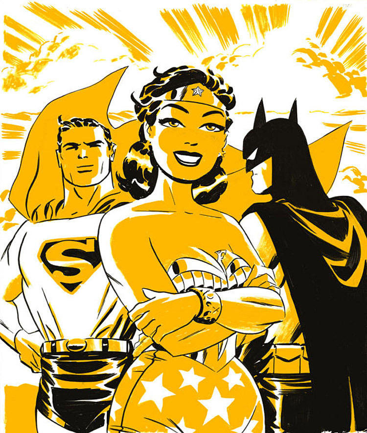 blueribbondigest:  i love Darwyn Cooke so much…