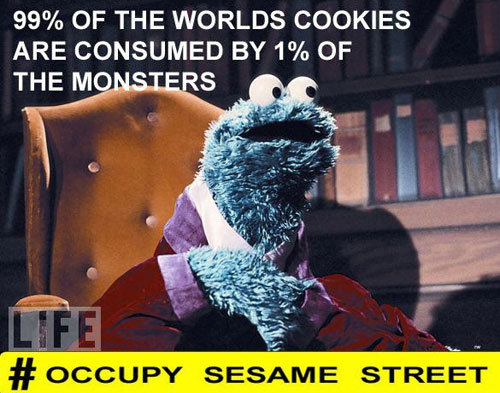 Occupy Sesame Street (spelling fixed)