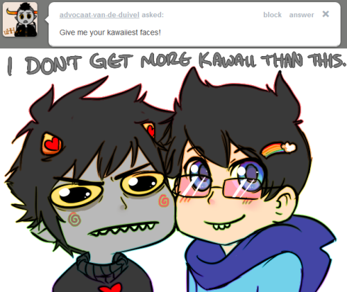 Karkat face is awesome! xD