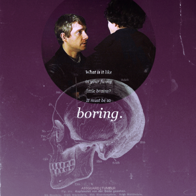 color meme → BBC Sherlock/John | Purple (requested by anonymous)