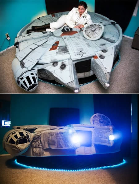 """Wanna have sex on the millenium falcon anyone?"""