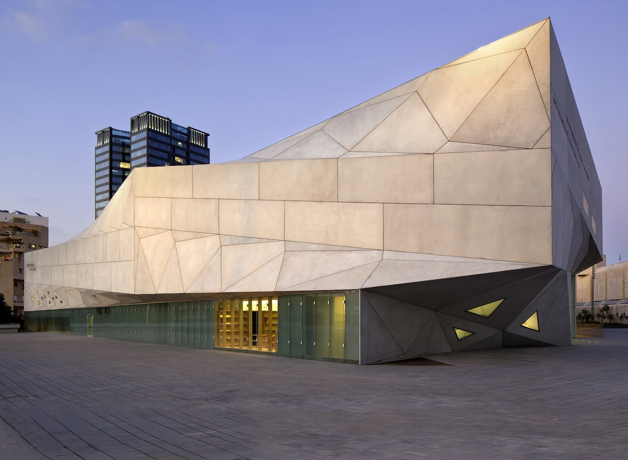 ummhello:  Tel Aviv Museum of Art, Preston Scott Cohen