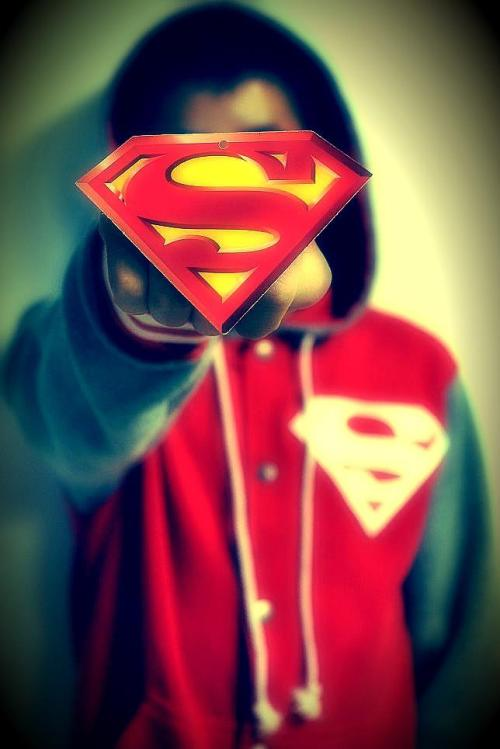 followguru:  Superman swag.  Why did this randomly get 500 notes today? LOL.