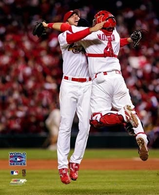 "Dear Chris Carpenter and Yadier Molina, I understand that you have a bromance going on but I would love to have a three way with the both of you. You just have to remember the golden rule ""It's OK when it's in a three-way. It's not gay when it's in a three-way. With a honey in the middle there's some leeway (The Lonely Island— 3-Way)."""