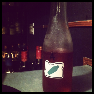 A Bottled Americano from Clyde Common.