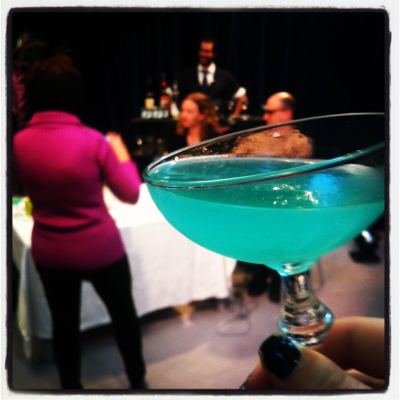 A Corpse Reviver Number Blue from Brandon Wise on the Byron Beck show!