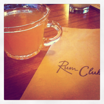 Punch at Rum Club by Emily Baker.