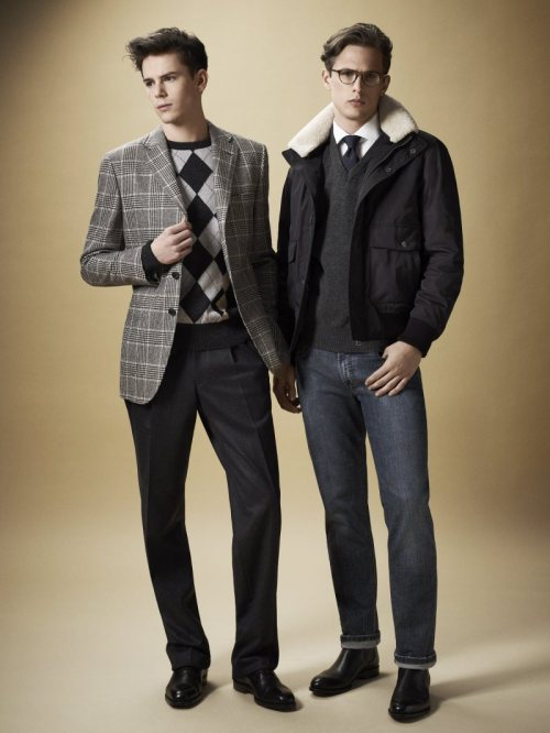 Daks Fall 2011 Lookbook. Perfect example of 'business casual'.