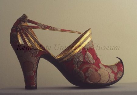 Shoes by Marouf Bottier, ca 1930 Paris, Kent State