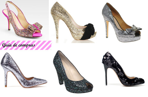 (via Zapatos llenos de brillo_Sparkling shoes | A Kiss of Colour)