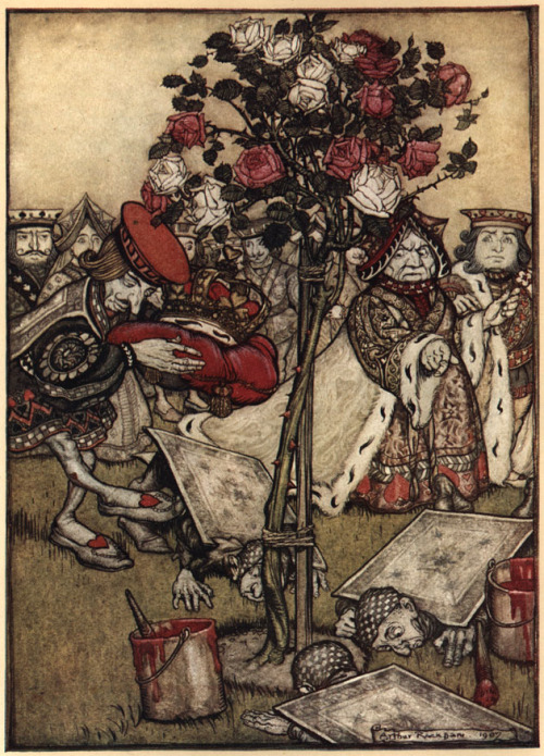 Alice's Adventures in Wonderland illustrations by Arthur Rackham