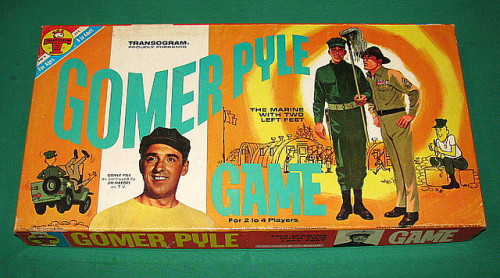 Gomer Pyle Board game by Transogram (1965)