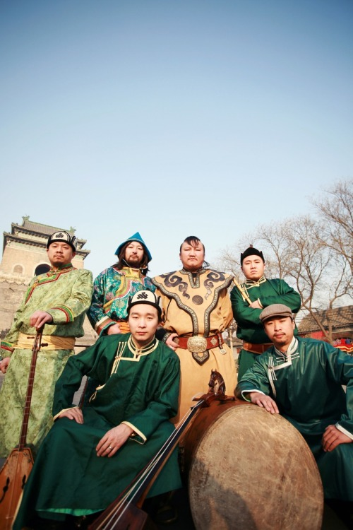 "thegroovethief:  Fusing traditional Mongolian music with modern Chinese sensibilities, Hanggai are striking a bold musical path where mundane pop music in the norm.  This is a band on the verge of greatness, now touring internationally with their unique north-Asian sound.  Here's a video of appropriate scenery accompanying their song ""Wuji,"" and check out their Myspace page for more free music."