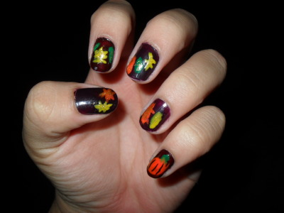 Autumn nails.