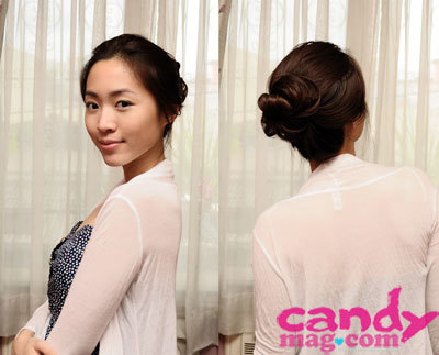 Tuesday, October 11, 2011 Loose and messy bun for fuss-free hair. (via 31 Days of Hair: Liz de Asis | Candymag.com)