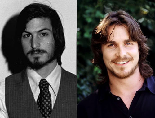 10 Actors For The Steve Jobs Biopic If they're going to do it, they'd better do it right…1. Steve Jobs (Younger)The Actor: Christian BaleWhy? Presuming the film covers the majority of Jobs' eventful life, they'll need to cast more than one actor in the role to save offending his memory with any iffy age makeup.Not only does Bale have a decent look for the young Jobs, but he's a rare actor capable of both Zen philosophising (Jobs was a Buddhist) and bouts of angrily passionate perfectionism (for method bile, the director should get a crew-member to prance into his eyeline during a key boardroom scene).Stand-In: Edward Norton[FOR 9 MORE CASTING SUGGESTIONS FOR THE STEVE JOBS MOVIE, CLICK ON JOBS AND BALE OR FOLLOW THIS LINK]