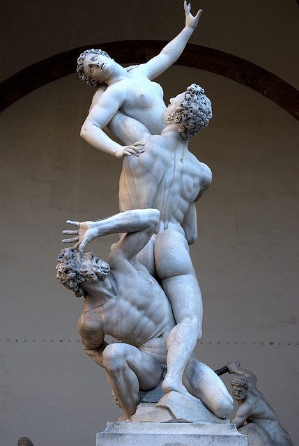 The Rape of the Sabine women on Flickr.