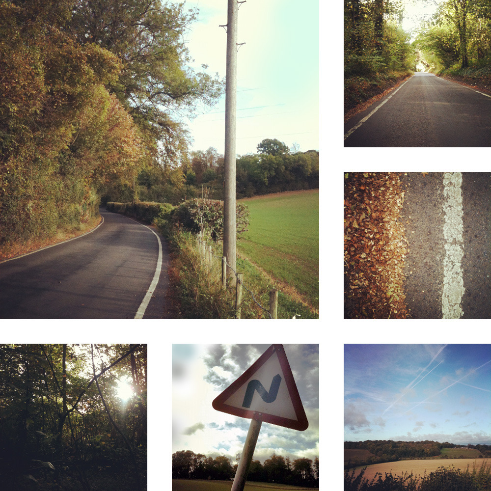 Snapshots from a bicycle ride this morning.