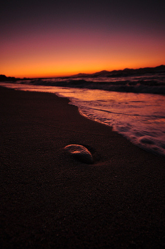 jorrty:  Lonely Stone (by nikongreek)