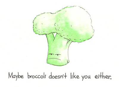 meme-meme:  Broccoli has feelings.