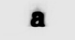 "typepaintbook:  What Does The World's Most Average Typeface Look Like?""Average Font, by Austrian designer Mortiz Resl, is a typeface that uses all 900 fonts installed on his computer to create the ultimate set of composite characters, as each font is overlaid on top of the other, for each letter of the alphabet.""via Co. Design"