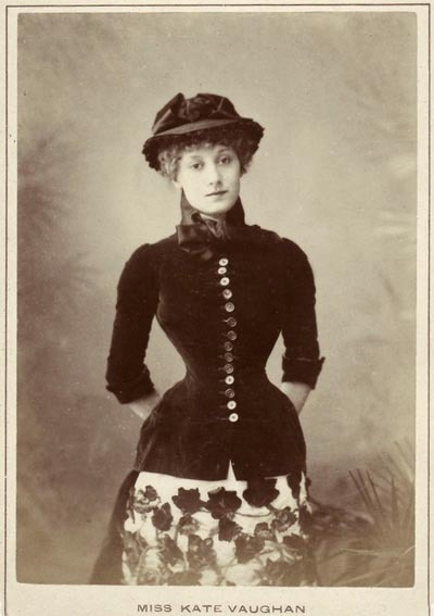 treselegant:  Miss Kate Vaughan (1852 - 1903) English actress and dancer of the 1870s and 80s.